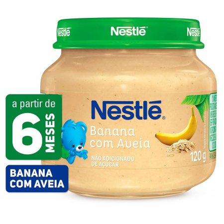 Papinha Nestlé Banana com Aveia