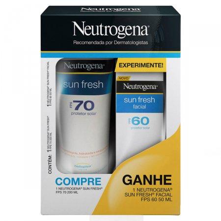 Kit Protetor Solar Neutrogena Sun Fresh