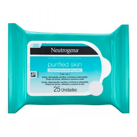 Lenço Micelar Neutrogena Purified Skin