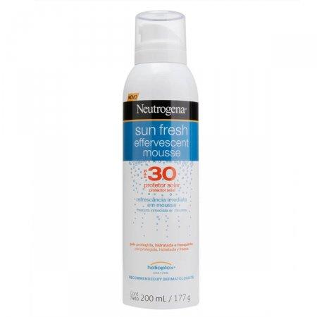 Protetor Solar Corporal Neutrogena Sun Fresh Mousse Efervecente FPS30
