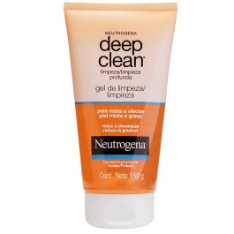 Gel de Limpeza Profundo Neutrogena Deep Clean com 150g