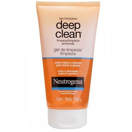 Gel De Limpeza Profunda Neutrogena Deep Clean