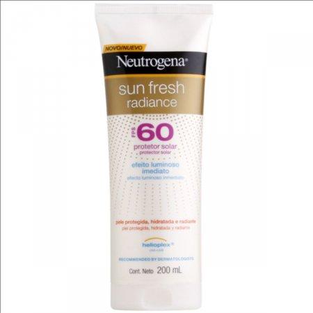 Protetor Solar Corporal Neutrogena Sun Fresh Radiance FPS60