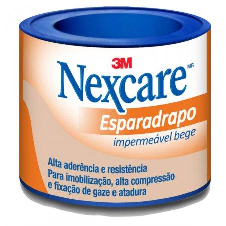 Esparadrapo Impermeável Nexcare Bege 25mm X 0,9m