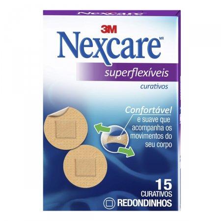 Curativos Superflexíveis Redondos Nexcare
