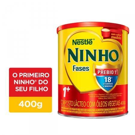 NINHO LEITE INFANTIL CRESCIMENTO PREBIO FASES 1+ 400G
