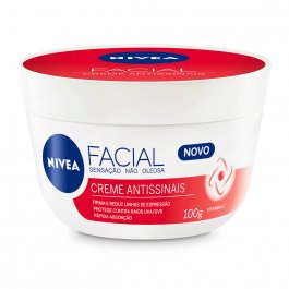 Creme Hidratante Facial Nivea Antissinais com 100g
