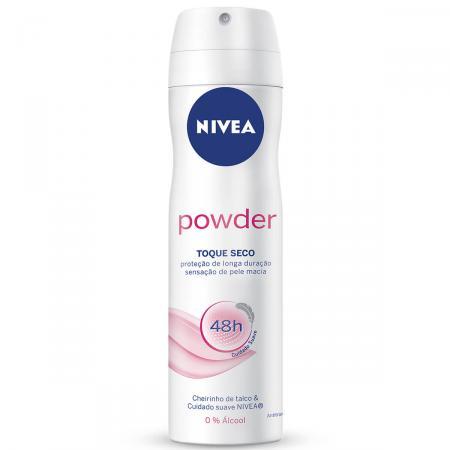 Desodorante Aerosol Nivea Powder Comfort