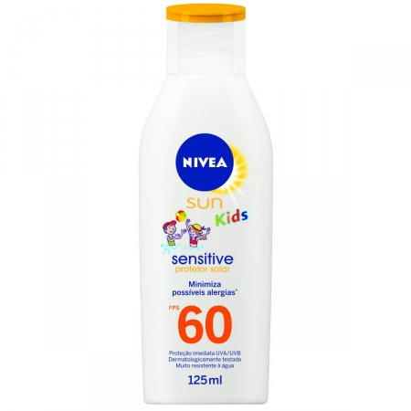 NIVEA SUN SENSITIVE FPS60 125ML + BALDINHO DE PRAIA