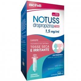 Notuss 1,5mg/ml Sabor Morango