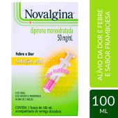 NOVALGINA 50 MG SOLUCAO ORAL 100 ML