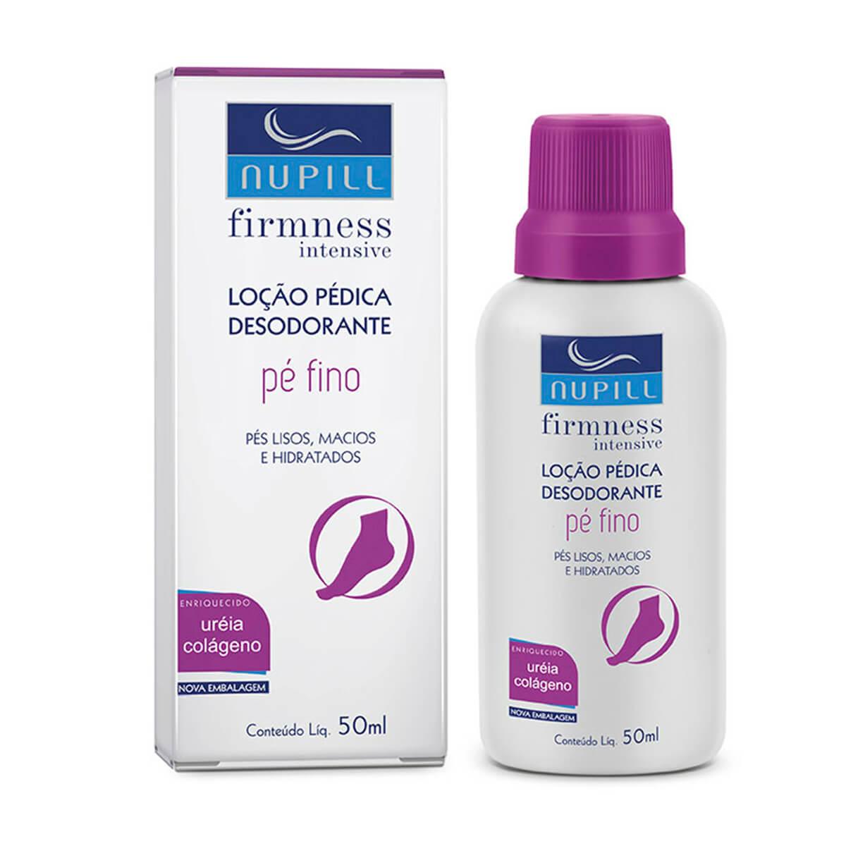 Loção Pédica Desodorante Nupill Pé Fino com 50ml 50g
