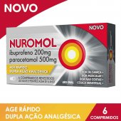 Nuromol com 6 Comprimidos