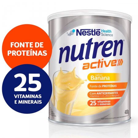 Complemento Alimentar Nutren Active Sabor Banana
