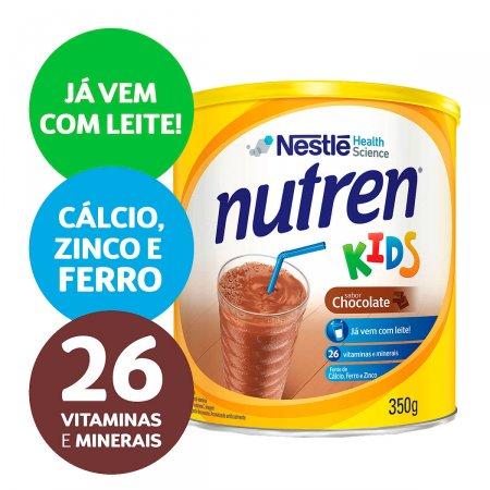 Complemento Alimentar Nutren Kids Sabor Chocolate