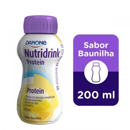 NUTRIDRINK PROTEIN BAUNILHA GARRAFINHA 200ML