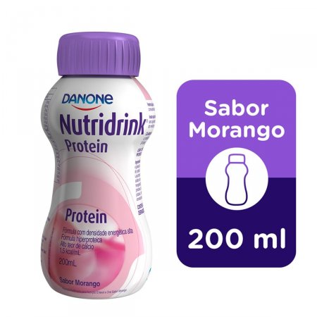 Nutridrink Protein Sabor Morango 200ml | Drogaraia.com Foto 1