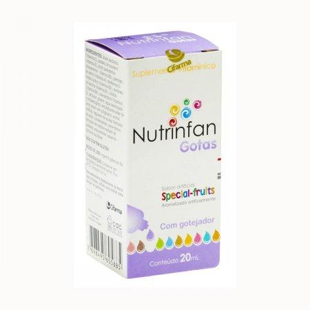 NUTRINFAN GOTAS FRASCO 20ML