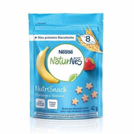 NUTRISNACK NATURNES MORANGO E BANANA 42G