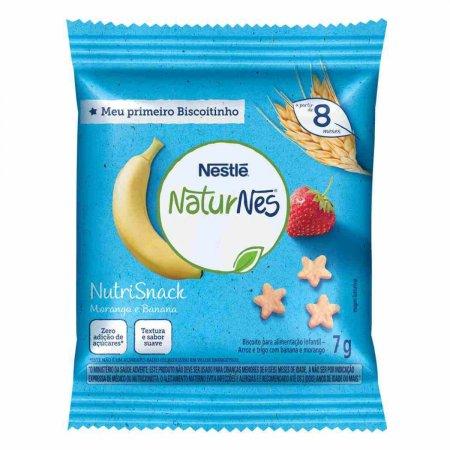 Nutrisnack Nestlé Naturnes Banana e Morango 7g   Drogasil.com