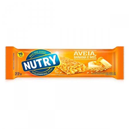 NUTRY BARRA DE CEREAIS BANANA / AVEIA / MEL 22G