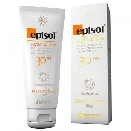 Protetor Solar Episol Loção Oil Free FPS30