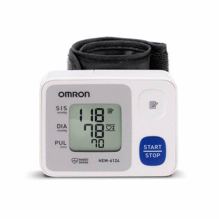 Monitor de Pressão Arterial de Pulso Automático Omron HEM 6124