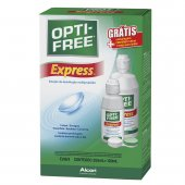 OPTI FREE SOLUCAO LENTES EXPRESS KIT 355ML + 120ML