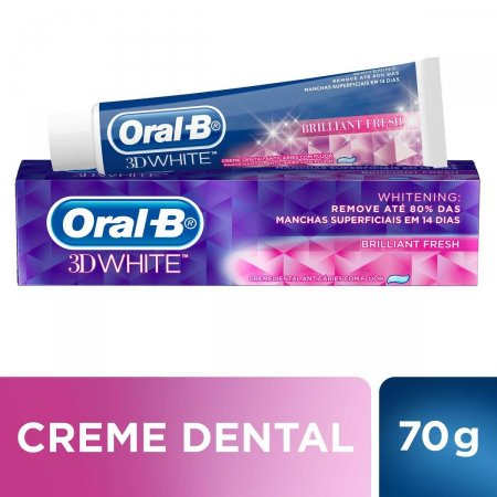 Creme Dental Oral-B 3D White Brilliant Fresh