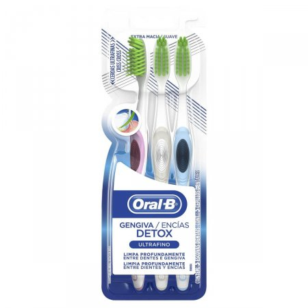 Escova Dental Oral-B Ultrafino Detox