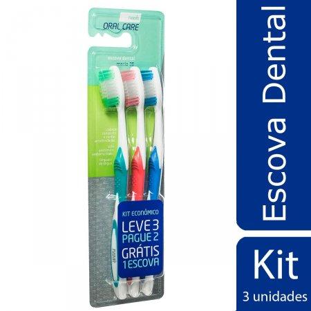 Kit Escova Dental Needs Oral Care