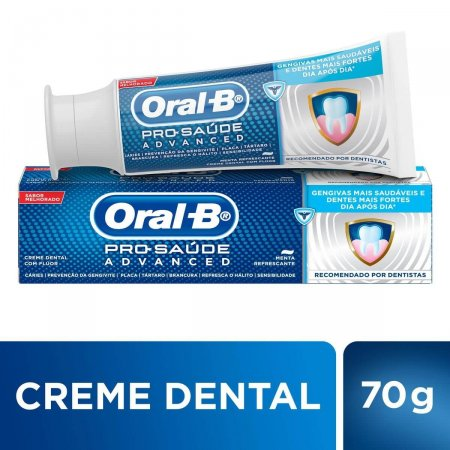 ORALB CREME DENTAL PRO-HEALTH ADVANCE 70G