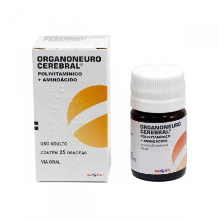 Organoneuro Gross 25 Drágeas | Drogasil.com