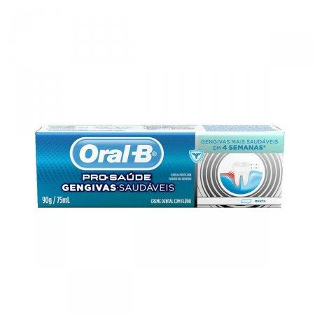 ORAL B CREME DENTAL PRO-SAUDE GENGIVAS SAUDAVEIS 90G