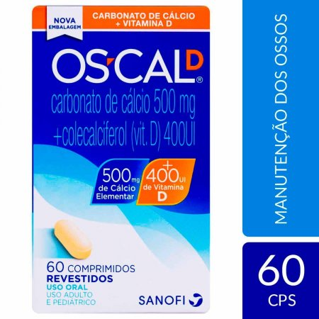 Os-Cal D 500mg + 400UI