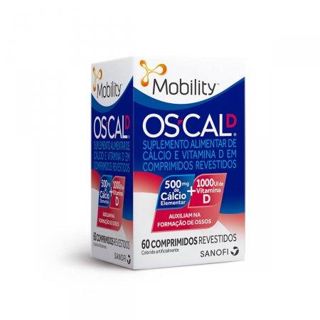 OSCAL D 500MG+1000UI COM 60 COMPIMIDOS