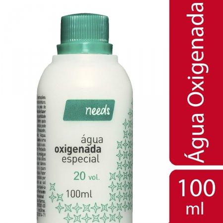 Needs Água Oxigenada 20 Volumes 100ml | Drogasil Foto 1