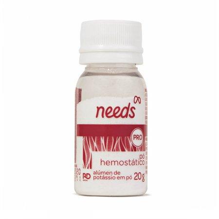 NEEDS PO HEMOSTATICO 20G