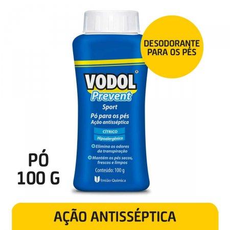Pó para os Pés Vodol Prevent Sport 100g