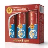 REDOXON ZINCO TRIPLE PACK 3 CARTUCHOS COM 10 COMPRIMIDOS CADA
