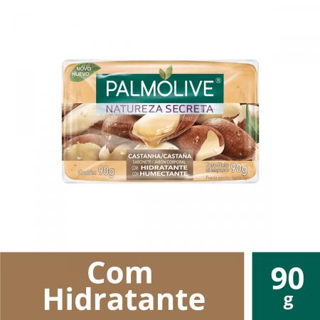 Sabonete em Barra Palmolive Natureza Secreta Castanha