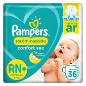 Fralda Pampers Confort Sec Recém-nascido