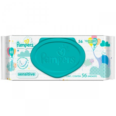 Toalhinhas Umedecidas Pampers Sensitive
