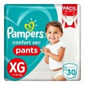 Fralda Pampers Confort Sec Pants... Fralda Pampers Confort Sec Pants Tamanho XG