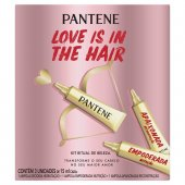 Kit Ampolas Ritual de Beleza Pantene Love Is In The Hair