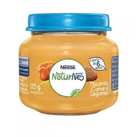 Papinha Nestlé Carne, Legumes e Macarrão