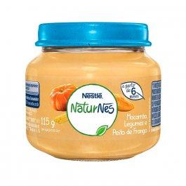 Papinha Nestlé Naturnes Peito de Frango, Legumes e Macarrão 115g