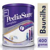 PEDIASURE LEITE INFANTIL BAUNILHA APOS 1 ANO 400G