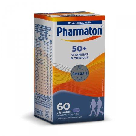 Pharmaton 50+ com 60 Cápsulas   Drogasil.com