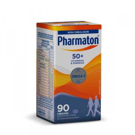 PHARMATON 50+ COM 90 CAPSULAS